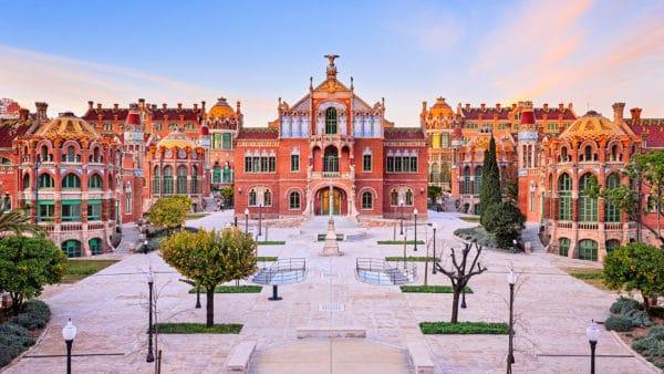 Instalación de geotermia en el Hospital Sant Pau de Barcelona