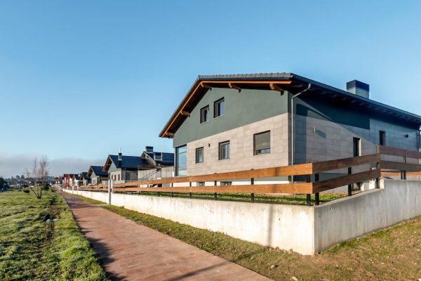 Calefacción por geotermia de 12 viviendas adosadas en Sopela