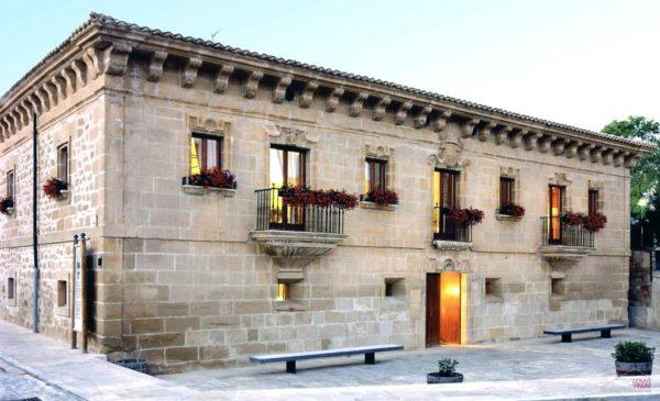 Campo de captación geotérmica del hotel Palacio de Samaniego